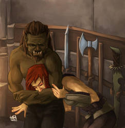 No One Bests an Orc by heinrichS