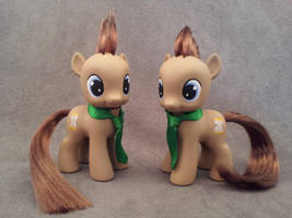 MLP: FiM - colt Dr Whooves - custom ponies by hannaliten