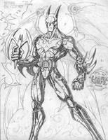 Batman Beyond by lmac1412