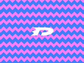Danny phantom logo pink pants stripe by OCPhantom