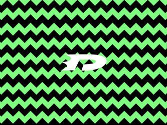 Danny phantom wallpaper green stripe by OCPhantom