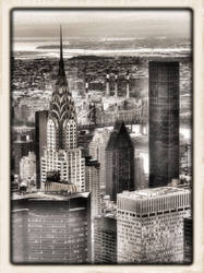 NYC Chrysler Building by Zephania