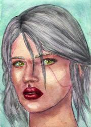 Ciri by Evangelina93