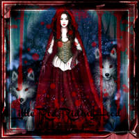 Gothic Red Riding Hood by iside2012
