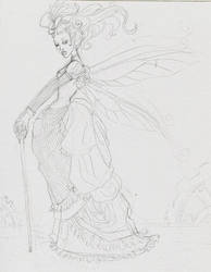 Steam punk fairy by JessicaDouglas