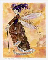 Steam punk fairy colored by JessicaDouglas