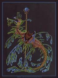 Carousel 1 Leafy Sea Dragon by JessicaDouglas