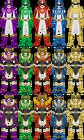 Colaboration: Shinka Sentai Crusager by Omega-King-DX