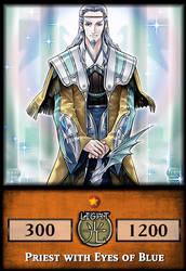 Priest with Eyes of Blue by KogaDiamond1080