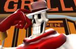 RA/Skype Tomfoolery-'Indiana Bones' by HanakoFairhall