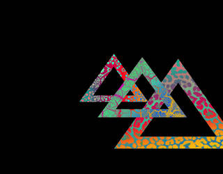 triangle madness wallpaper by saturn-rings