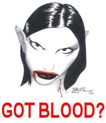 Got Blood? by JuviDrake