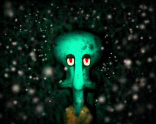 Hey, Spongebob... by BloodyNyan