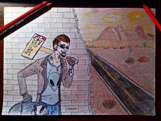 Postal Dude by BloodyNyan