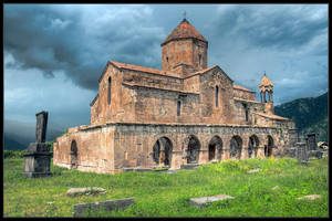 Odzun Basilica by Dorcadion