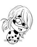 Chibis ladybug lainart by Yami-Chiby