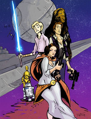 The Star Wars by TheIronShoes