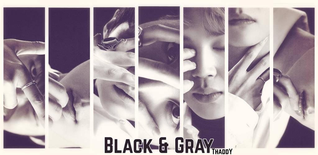 Bts Desktop Wallpaper Black And Gray By Thaismarino Sensei On