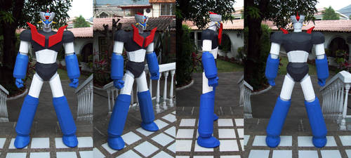 Mazinger Z Sculpture 2012-2013 by villamar