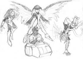Titans: Evolution 1 by Heckfire