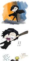 Johnlock ~ Sherlock, you're drunk by Reikiwie