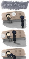 Reichenbach Fall ~ Staying Alive (or not) by Reikiwie