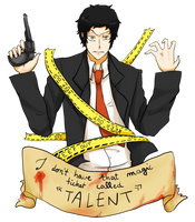 That ticket called ''TALENT'' by Reikiwie
