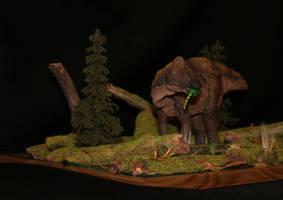 Amurosaurus riabinini by Maastriht123