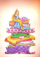 The Princess and the Pea by 6vedik