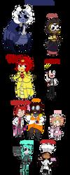 My fan villains! (redo) by MissEligon