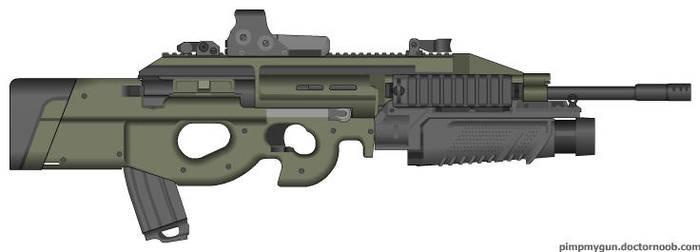 FN P95 GL by CINNAStixx