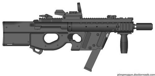 FN P90V by CINNAStixx