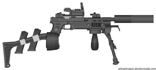 Glock 18 LMG Mod by CINNAStixx