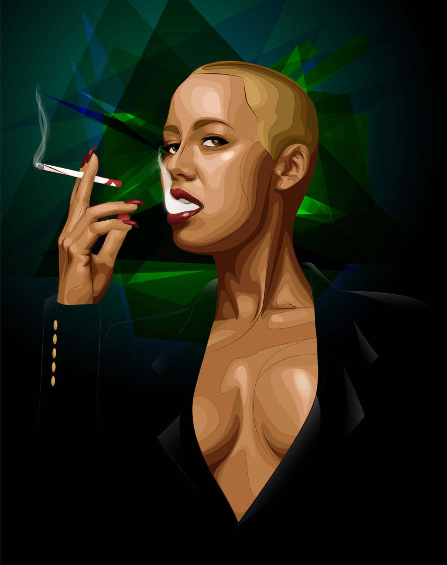 Amber Rose by BlissInMyCoffee