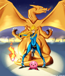 Super Smash Bros Wii U // Mains by Vichip-Art
