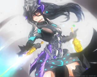 [Blade and Soul]: In motion by Vichip-Art