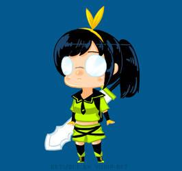 [Vindictus]: Chibi Delia by Vichip-Art