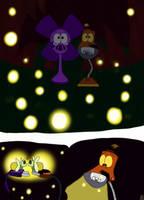 Fireflies 'n stuff... by BobcatAngel