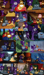 Fannah Screenshot Collage by BobcatAngel