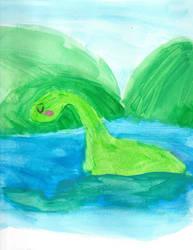 GDC Day 14: The Loch Ness Monster by BobcatAngel
