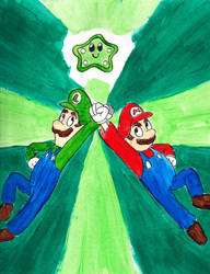 GDC Day 15:Mario and Luigi Superstar Saga by BobcatAngel