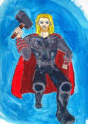 GDC Day 20: Thor by BobcatAngel
