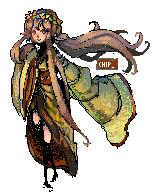 Pixel Goddess by ChippyFish