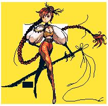 Redhead Pixels by ChippyFish