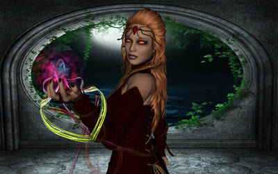 Sorceress by kittycat670