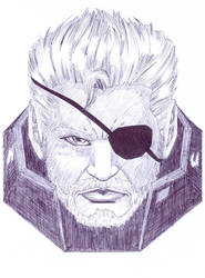 Solidus Snake by Th3DarkKn1ght