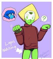 [SU] Peridot with sweater by Zak-Kak