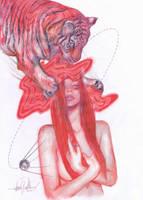 TIGER GIRL 5 by javierGpacheco