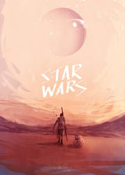 STARWARS: THE FORCE AWAKENS By Javier G. Pacheco by javierGpacheco