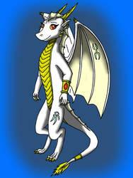 Merinda The White Dragon by Tomek1000